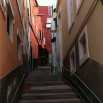 Stairs in Las Palmas old town