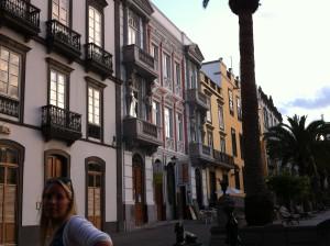 Street view of Vegueta, Las Palmas