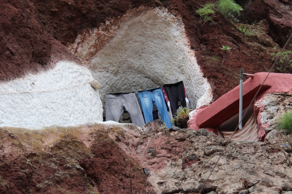 A cave house in Barranco de Guayadeque