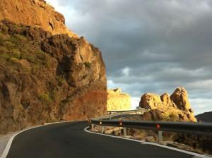 A view of the mountain tour from Maspalomas, Gran Canaria