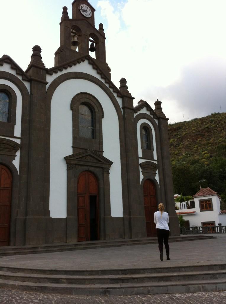 Church at Santa Lucia