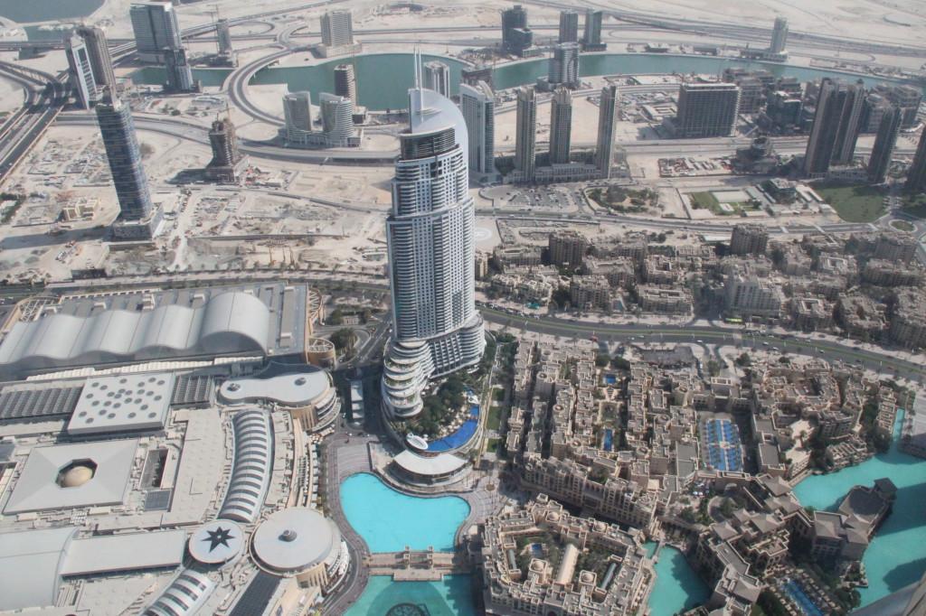 Dubai Mall from Burj Khalifa