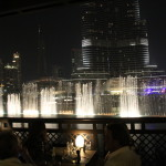 Dubai Mall fountain show