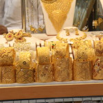 Gold being sold in Deira Gold Souk