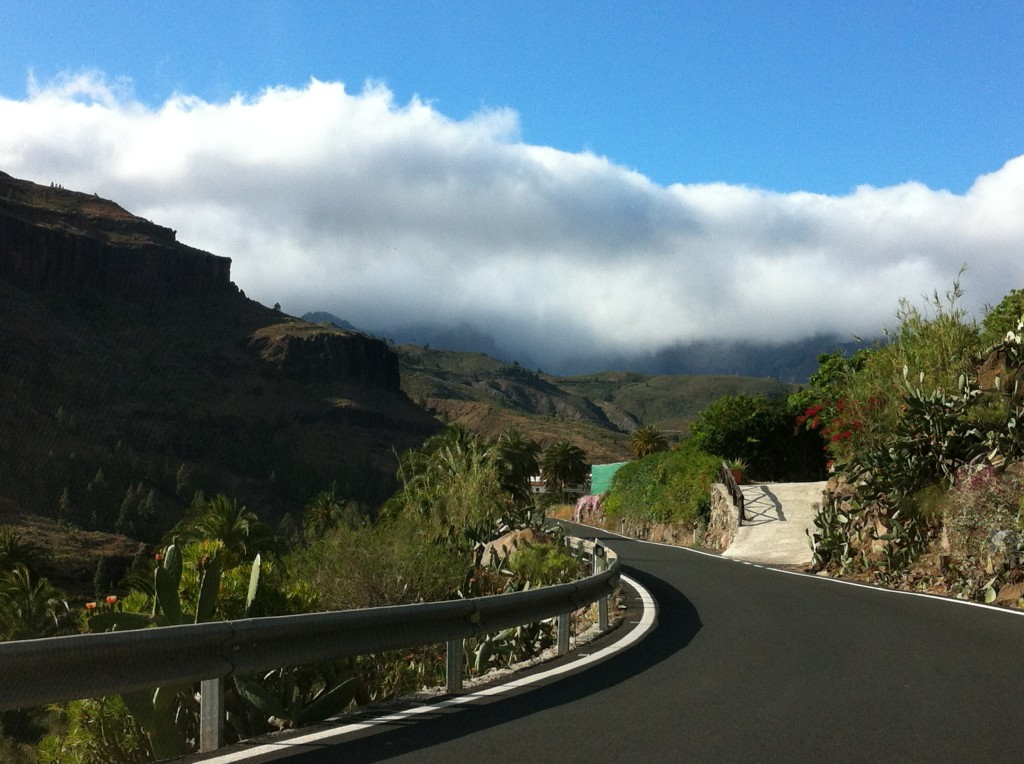 Road from Maspalomas