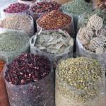 A selection of spices, Deira Spice Souq. Dubai