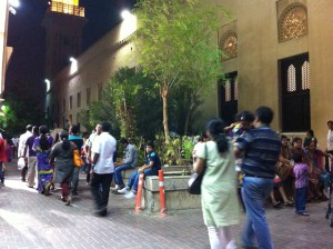 Street life in Bur Dubai