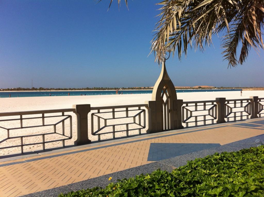 Corniche Beach and Boulevard, Abu Dhabi