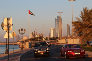 Driving on the Breakwater