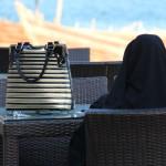 Woman on the Breakwater, Abu Dhabi