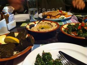 Local dishes in Dubai