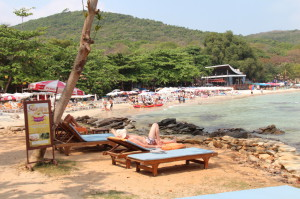 A view of Ao Phai beach, Ko Samet, Thailand