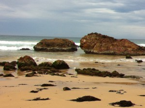 A view of Betka Beach, Mallacoota