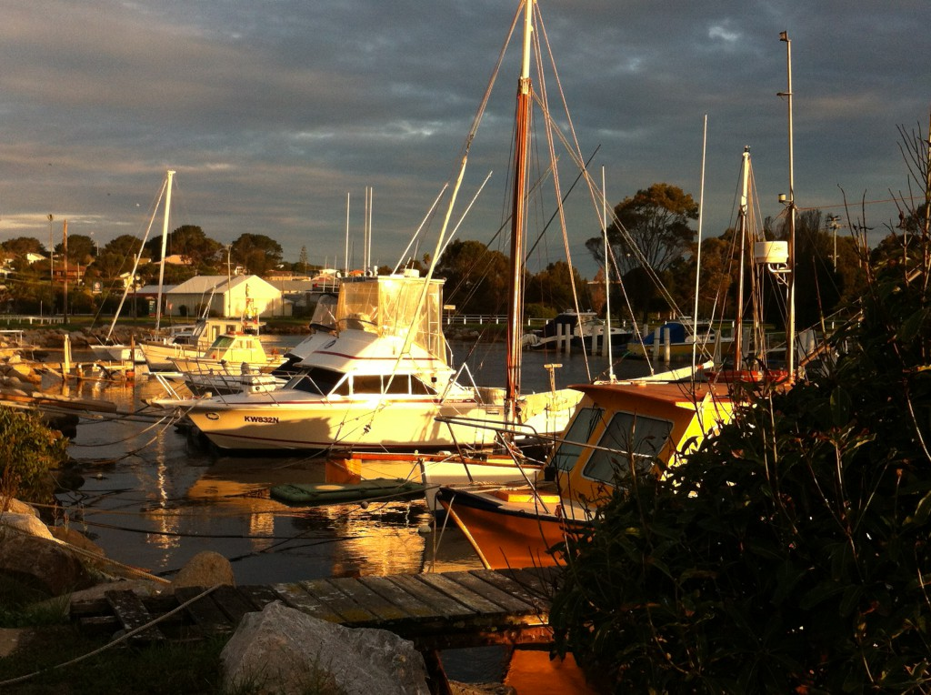 Bermagui harbour, New South Wales