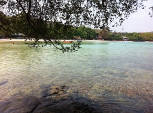 Calm waters of Ao Wong Duean beach, Ko Samet