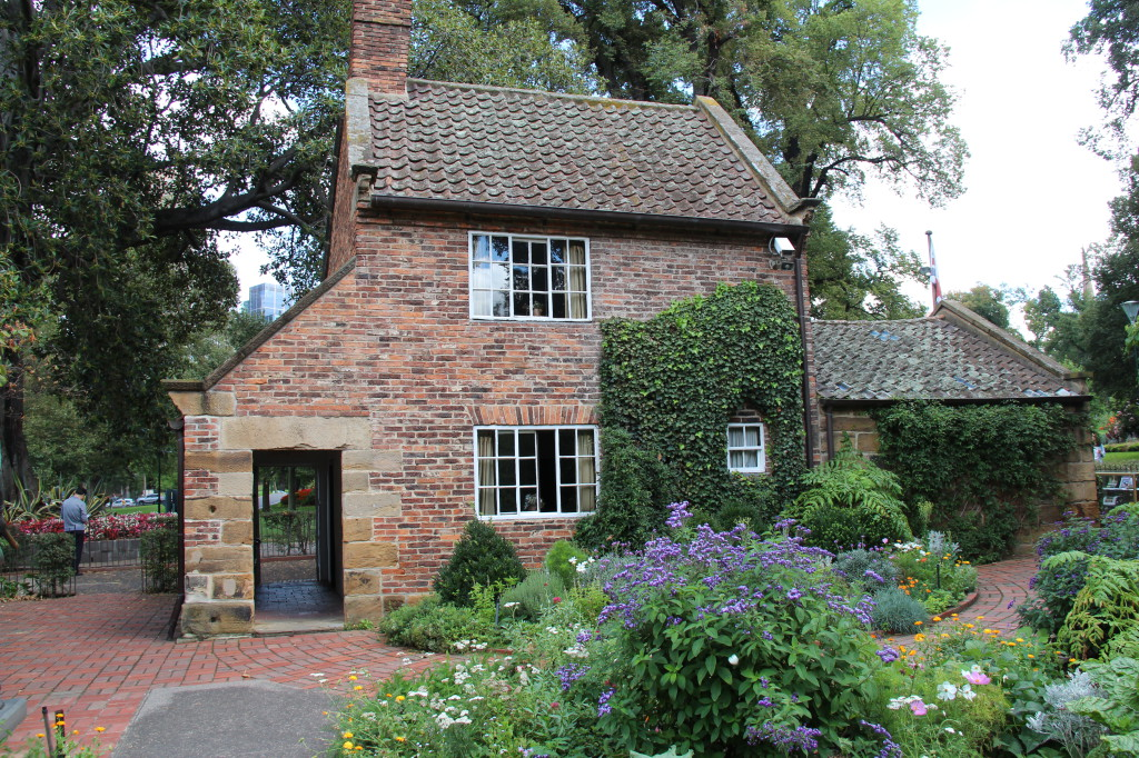 Cook's Cottage in Fitzroy Gardens, Melbourne