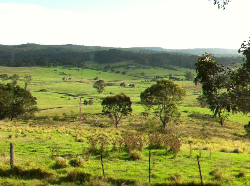 Countryside of southern New South Wales, Melbourne to Sydney