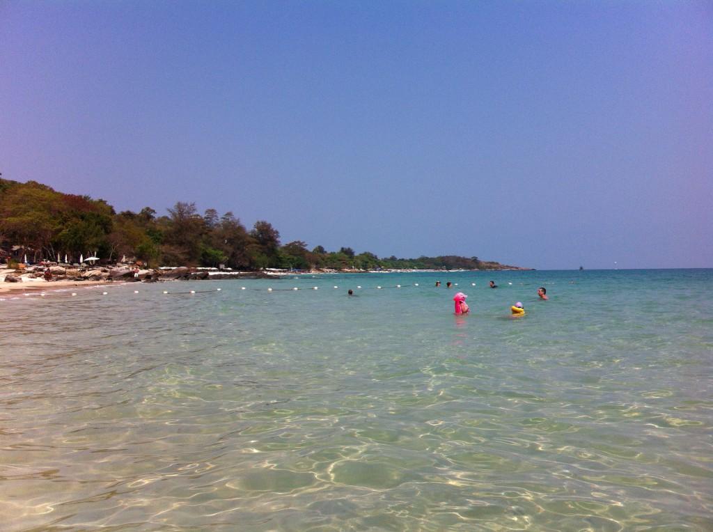 Beach of Hotel Silver Sand, Ko Samet