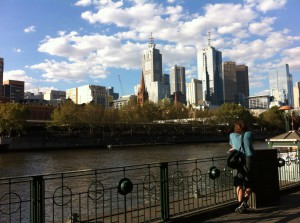Melbourne CBD from The Southbank, Melbourne