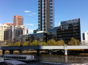 Melbourne Southbank and Eureka building