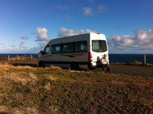 Our Melbourne to Sydney camper van
