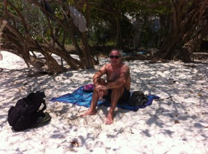 Relaxing in the shade, Ao Wai, Ko Samet