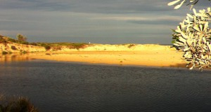 Sand dunes in New South Wales, Australia