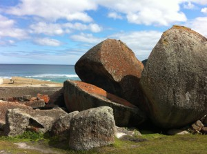 Stones on Squeaky Beach, Wilsons Promontory