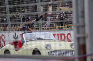 The Drivers Parade, Grand Prix 2014