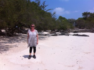 Walking along the beaches of Ko Samet