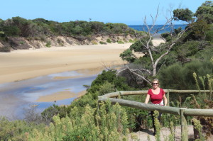 Walking at Tidal River, Wilsons Promontory