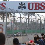 Watching the Australian Grand Prix 2014