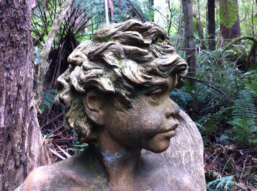A statue at William Ricketts Sanctuary, Dandenong Ranges