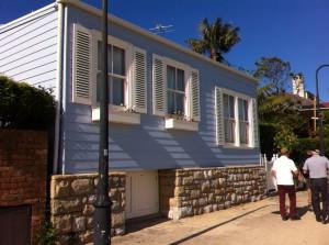 A house at Watsons Bay