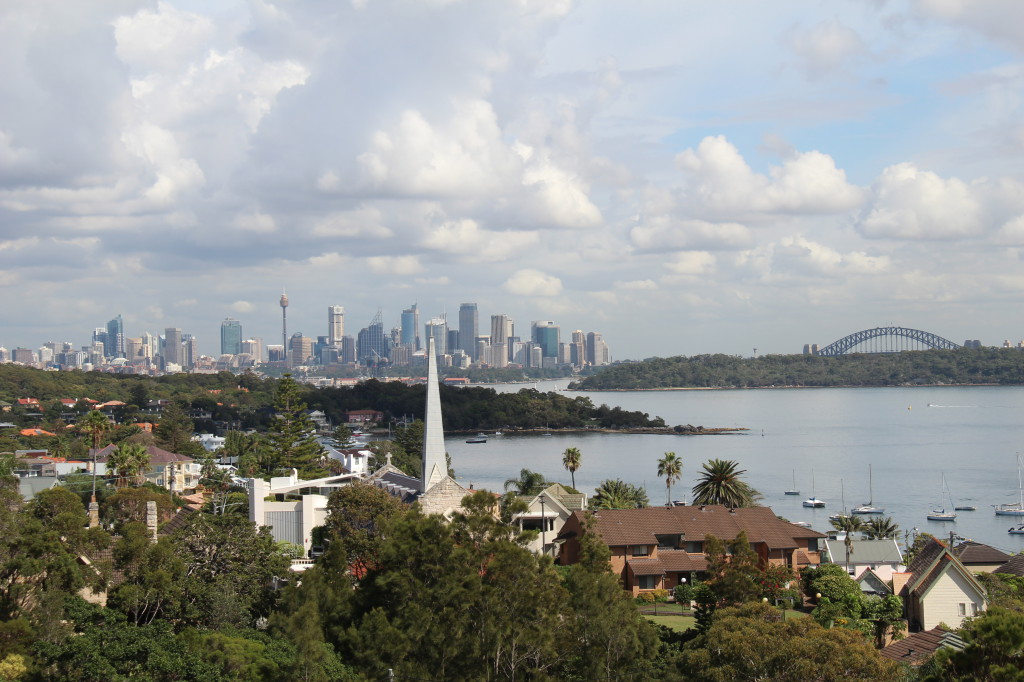 A view from Watsons Bay