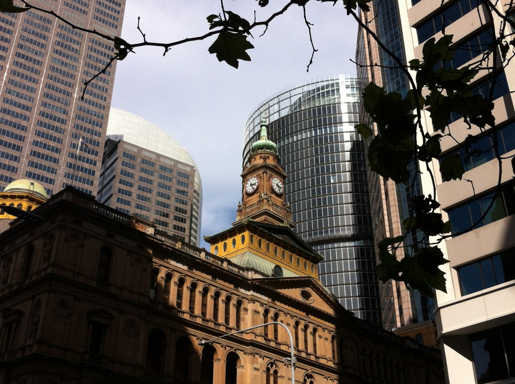 A view of the Central Business District, Sydney