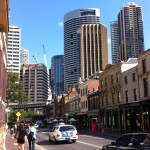 A view of the Rocks and CBD, Sydney
