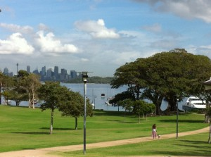 A view of Watsons Bay, Sydney