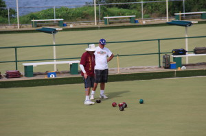 Bowling near Coogee