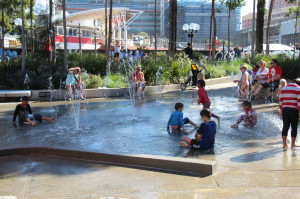 Children's playground in Darling Harbour