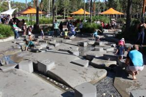 Children's playground in Darling Harbour