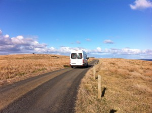 Driving on Phillip Island