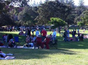 Easter picnic at Watsons Bay
