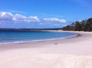 Huskisson beach, New South Wales