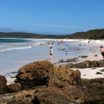 Afternoon on Hyams Beach, Jervis Bay