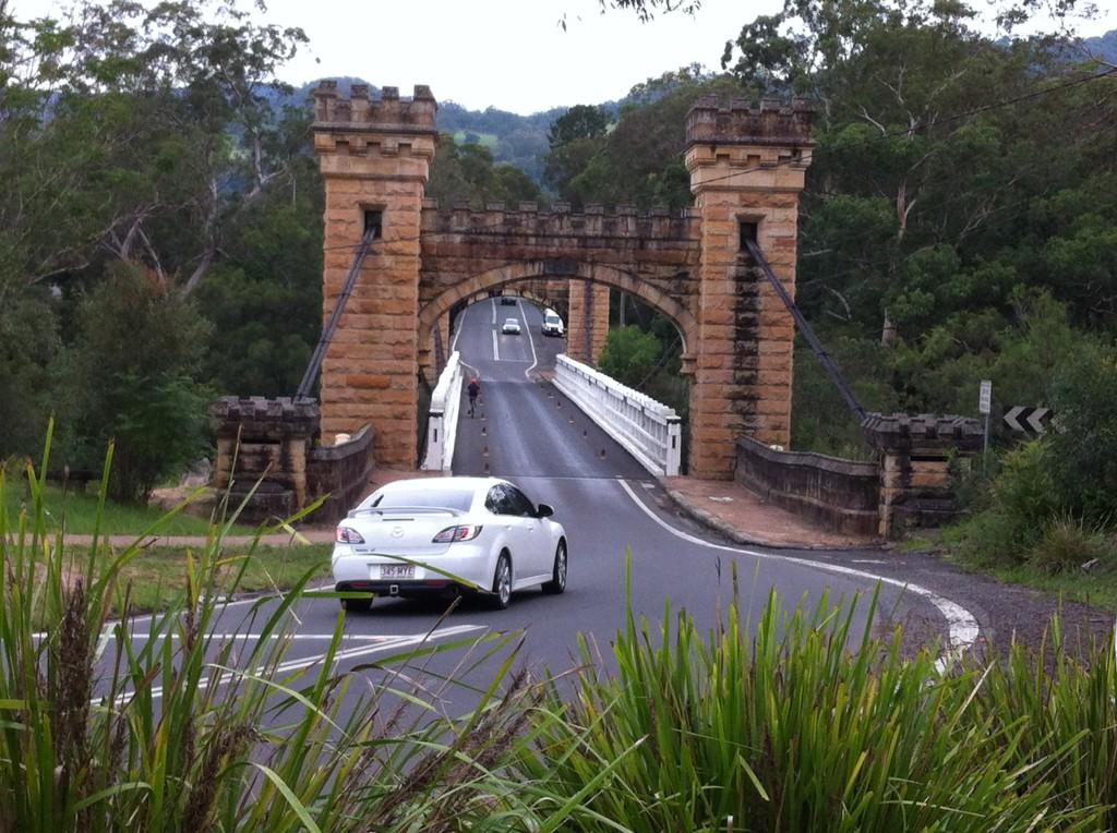 Suspension bridge, Kangaroo Valley