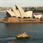 Sydney Opera House from Harbour Bridge