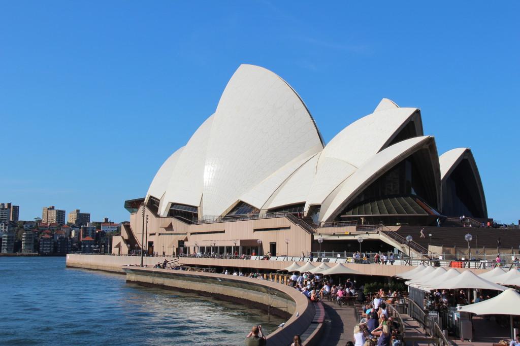 Sydney Opera House seen from Circular Quay