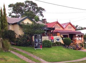 A view of Tilba Tilba, Australia