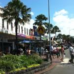Village centre of Kiama, New South Wales